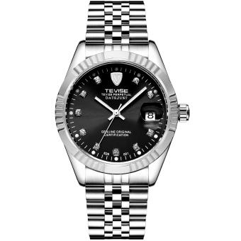 Tevise 629-Diamond-H-G Top Brand Luxury Digital Casual Watch Men Business Wristwatch Automatic Mechanical Fashion Wrist Watches - Intl