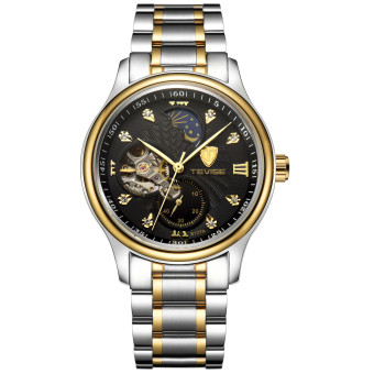 Tevise Men Casual Watches Fashion Automatic Mechanical Wristwatch 8122A-JH - intl
