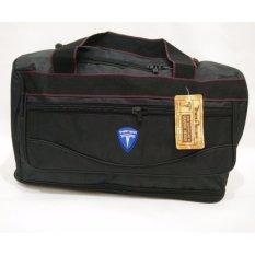Theo Travel Bag Susun U - Hitam