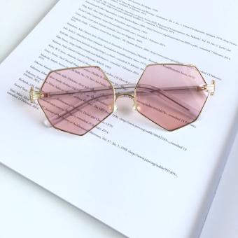 harga Tidak teratur sawit mutiara bantalan hidung kacamata hitam kacamata hitam Lazada.co.id