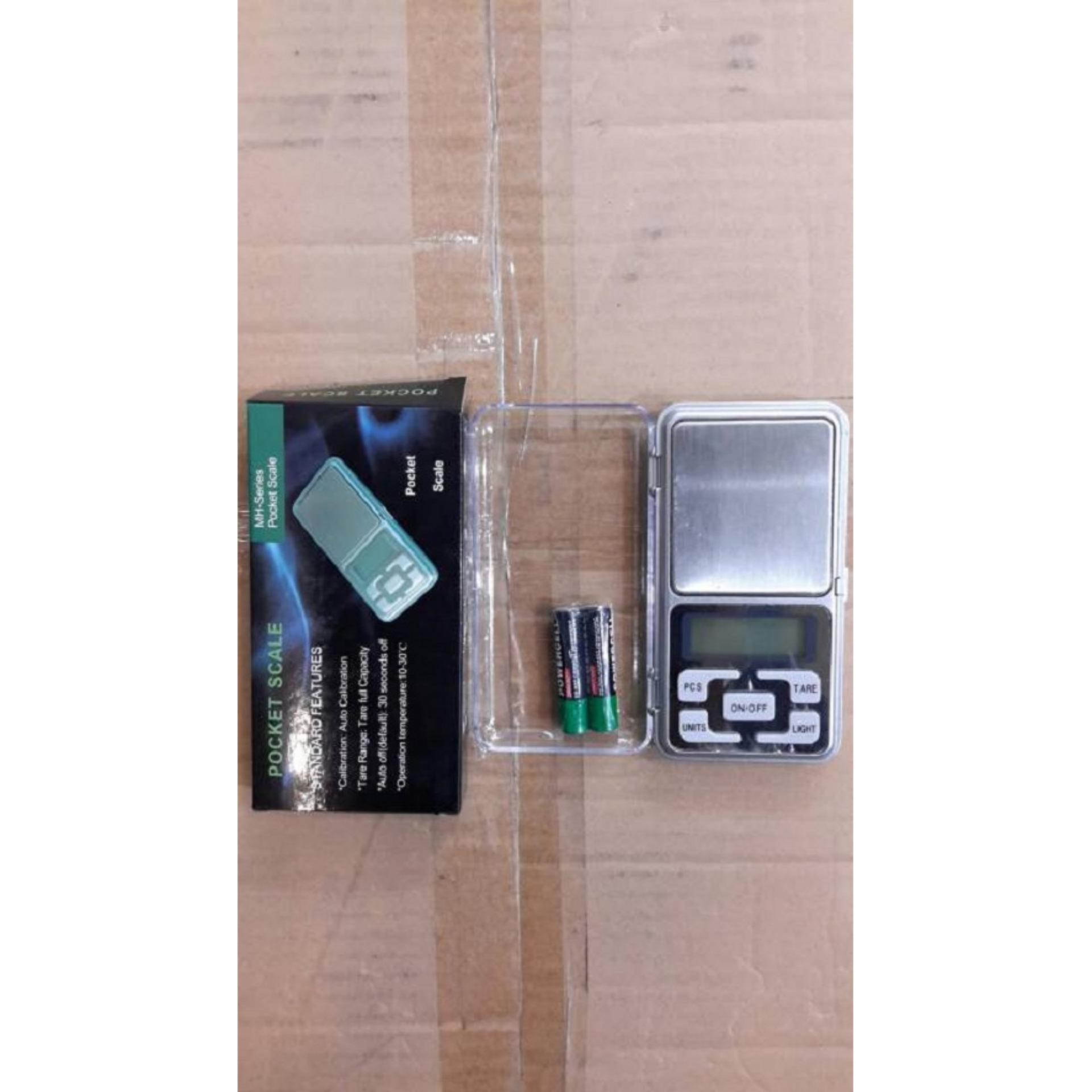 Lacarla Digital Pocket Scale 500 Gram Timbangan Emas Batu Cincin Berlian Akik 01 Gr Mas