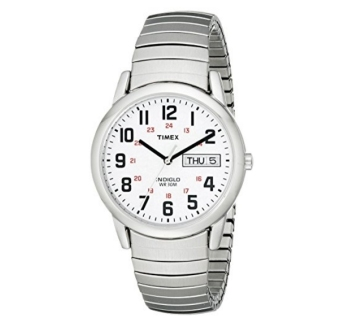 Timex Easy Reader Day-Date Expansion Band Watch - intl