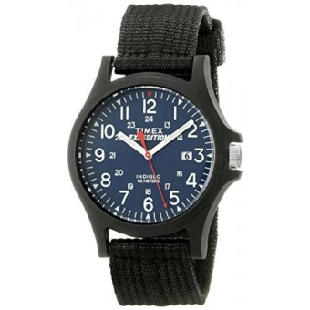 Harga Timex Mens TW4999900 Expedition Acadia Blue/Black Nylon Strap Watch- intl