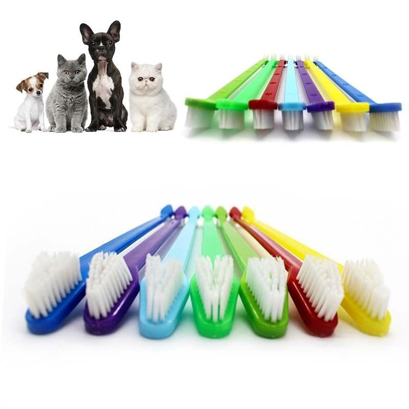 Toothbrush Dental Care Tool For Pet Puppy Dog Oral Health Pet Cat Dog Teeth Care - intl
