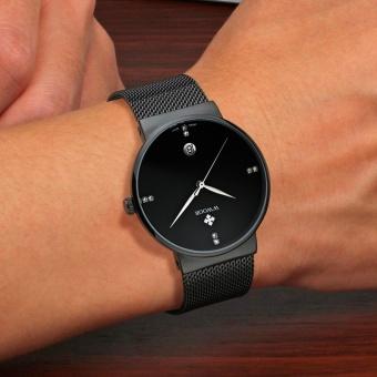 Top Brand Luxury Men's Watch 50m Waterproof Date Clock Male Sports Watches Men Quartz Casual Wrist Watch, Black - intl