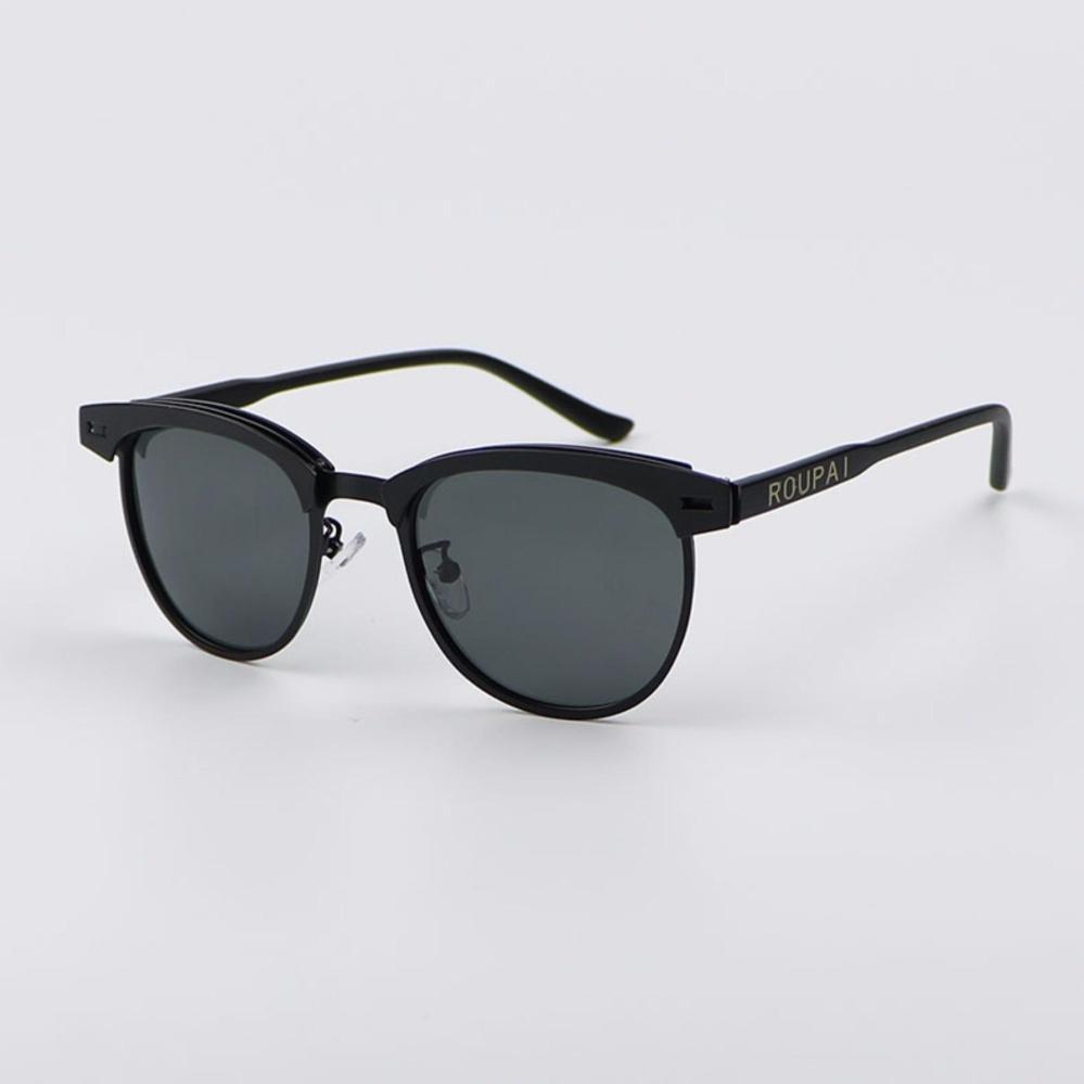 TOP Brand Women Sunglasses 2017 HD Polarized Lens Vintage Eyewear 0911 ( black frame grey lens ...
