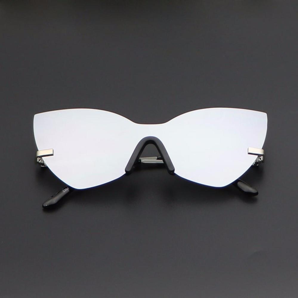 TOP Brand Women Sunglasses 2017 HD Polarized Lens Vintage Eyewear 2304 (silver .