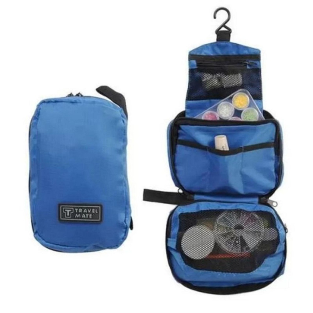 ... Travel Mate Toiletries Organizer Bag - Biru