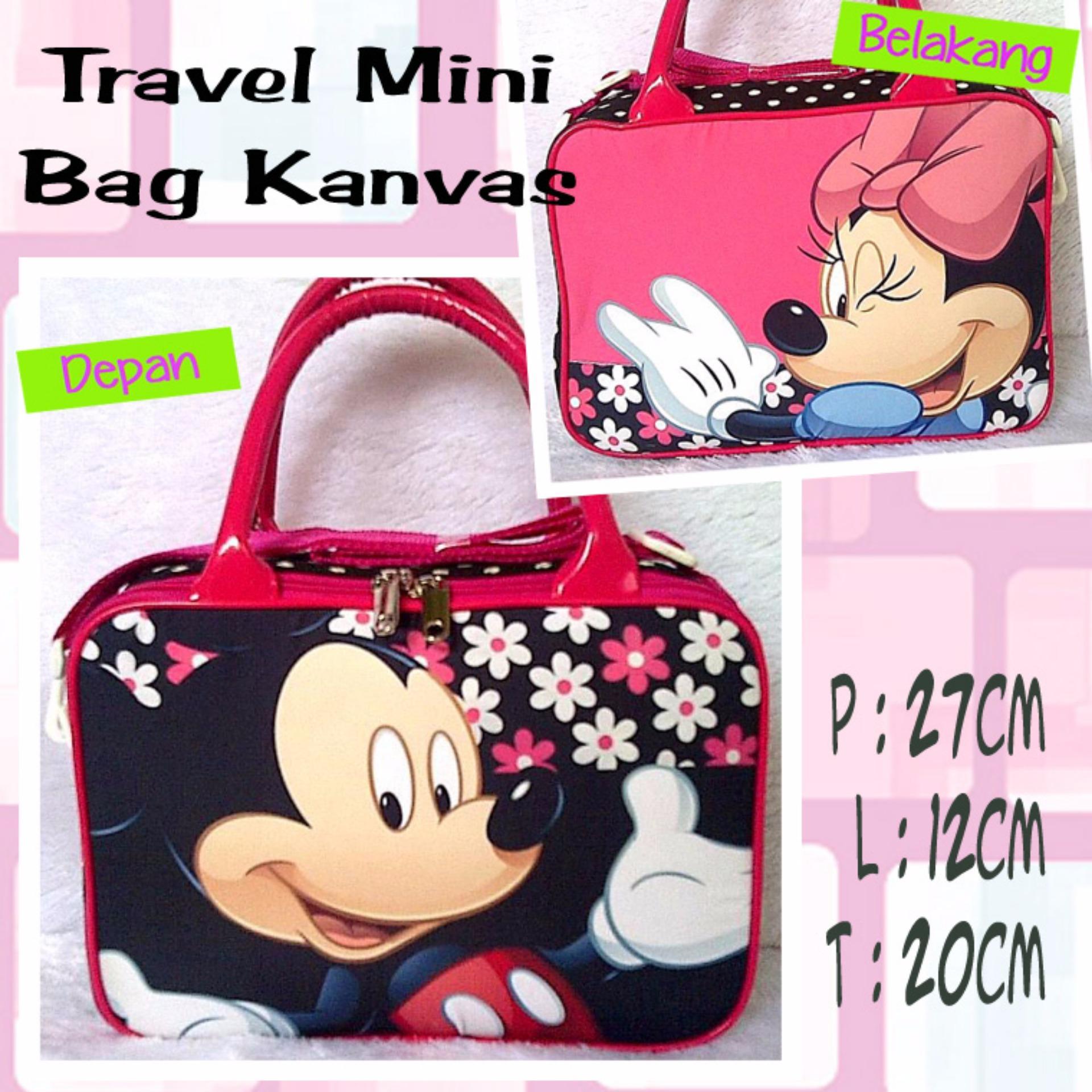 ... Travelbagmurah Travel Bag Kanvas Mickey Polkadot Daftar Harga Source TRAVELBAGMURAH TRAVEL MINI KANVAS
