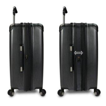 Traveler's Choice Silverwood Koper Hardcase Large - Silver - 4 .
