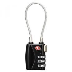 Kunci Loker 4 Angka Gembok Kombinasi Keamanan Bagasi Perjalanan-Perak S Bolehdeals - 4 ... Source · TSA Disetujui Kabel Keamanan Kunci Perjalanan, ...