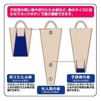 ... Umbrella Organizers Car Umbrella Folding Bag Organizer - Tas PayungMobil Anti Basah - 3 ...