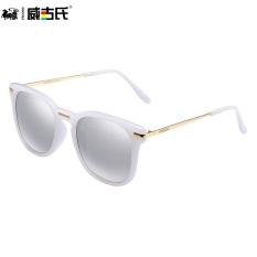 Vegoos perempuan Colorful terpolarisasi putaran retro kacamata hitam kacamata hitam kacamata hitam