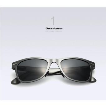 VEITHDIA aluminium laki-laki matahari kacamata terpolarisasi cermin mengemudi luar ruangan kacamata .