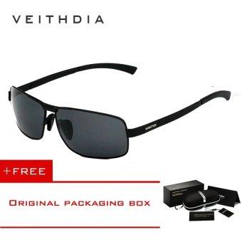 VEITHDIA Pria kacamata hitam kacamata lensa terpolarisasi pengemudi mengemudi  penangkapan ikan kaca mata Eyewear aksesoris untuk 0397fc1891