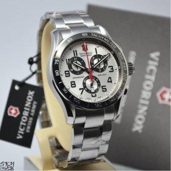 Victorinox Swiss Army 241445 Chrono Classic XLS (Silver)