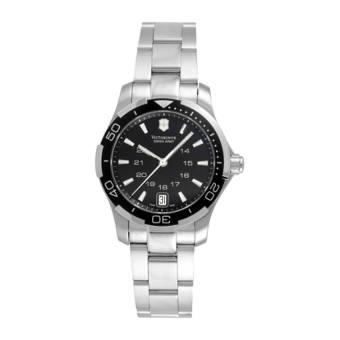 Victorinox Swiss Army Women's 241305 Alliance Sport Lady Black Dial Watch - Intl
