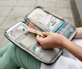 Vienna Linz Dompet Paspor Kartu Organizer K045 - Hijau - 5 .