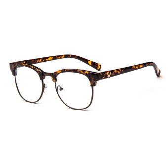 Vintage Men Eyeglass Frame Glasses Retro Spectacles Clear Lens Eyewear For Men .