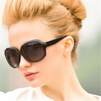 Asli Vintage Oval Lensa Plastik UV400 Elegan Wanita Polarized Sun Kacamata  Outdoor Berkualitas Tinggi Mengemudi Merek f3af6a061c