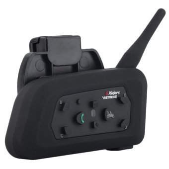 VNETPHONE V6 1200 m Bluetooth interkom di helmnya interfon helm sepeda motor