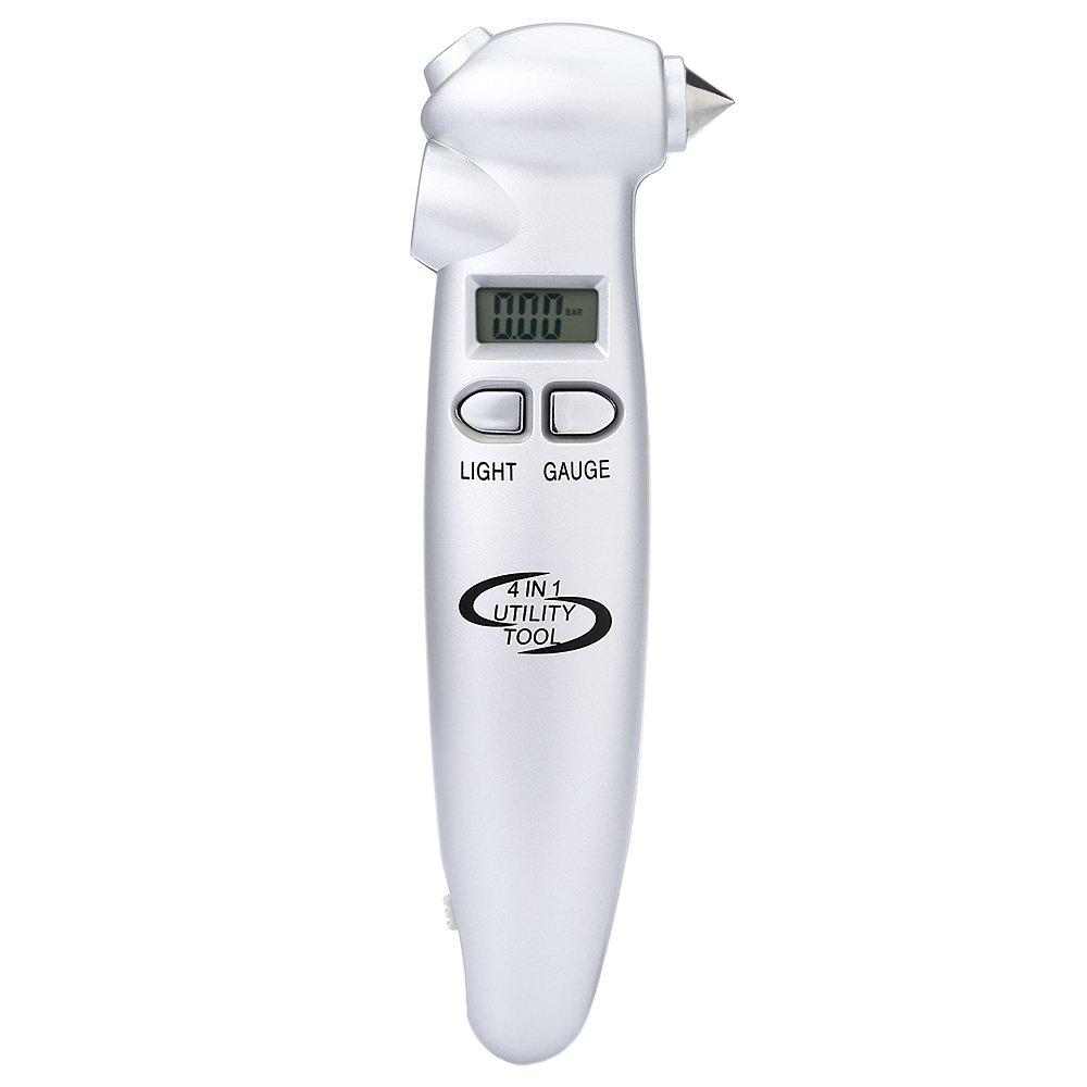 Harga Baru Vt903 Lcd Psi Kpa Bar Digital Tire Pressure Gauge 4 In 1 Tekiro Multifunctional Auto Safety Hammer