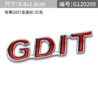 Vv7sgreatwall/T3 Great Wall Mobil Bahasa Inggris Huruf Ekor Stiker