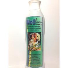 Well Shampoo Anti Jamur [200ml] untuk anjing dan kucing