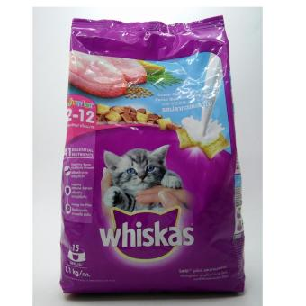 Harga Whiskas Junior Ocean Fish 1,1kg