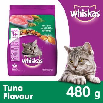Whiskas Makanan Kucing Wiskas Adult Tuna Flavor - 480gr. >>>>
