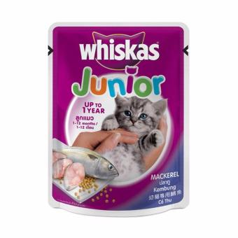 Harga Whiskas Pouch Kitten Mackerel