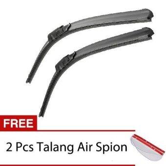 harga Wiper Mobil Frameless 1 Set - Isuzu Panther Kapsul - Free 2 PcsTalang Air Spion Clear Lazada.co.id