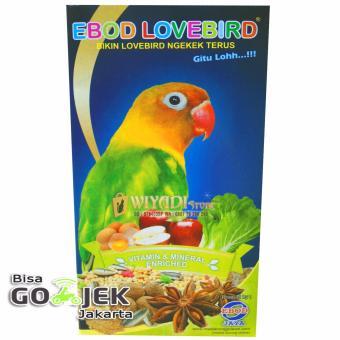 WiyadiStore - Makanan pakan Burung Ebod Lovebird Milet Harian - Kotak
