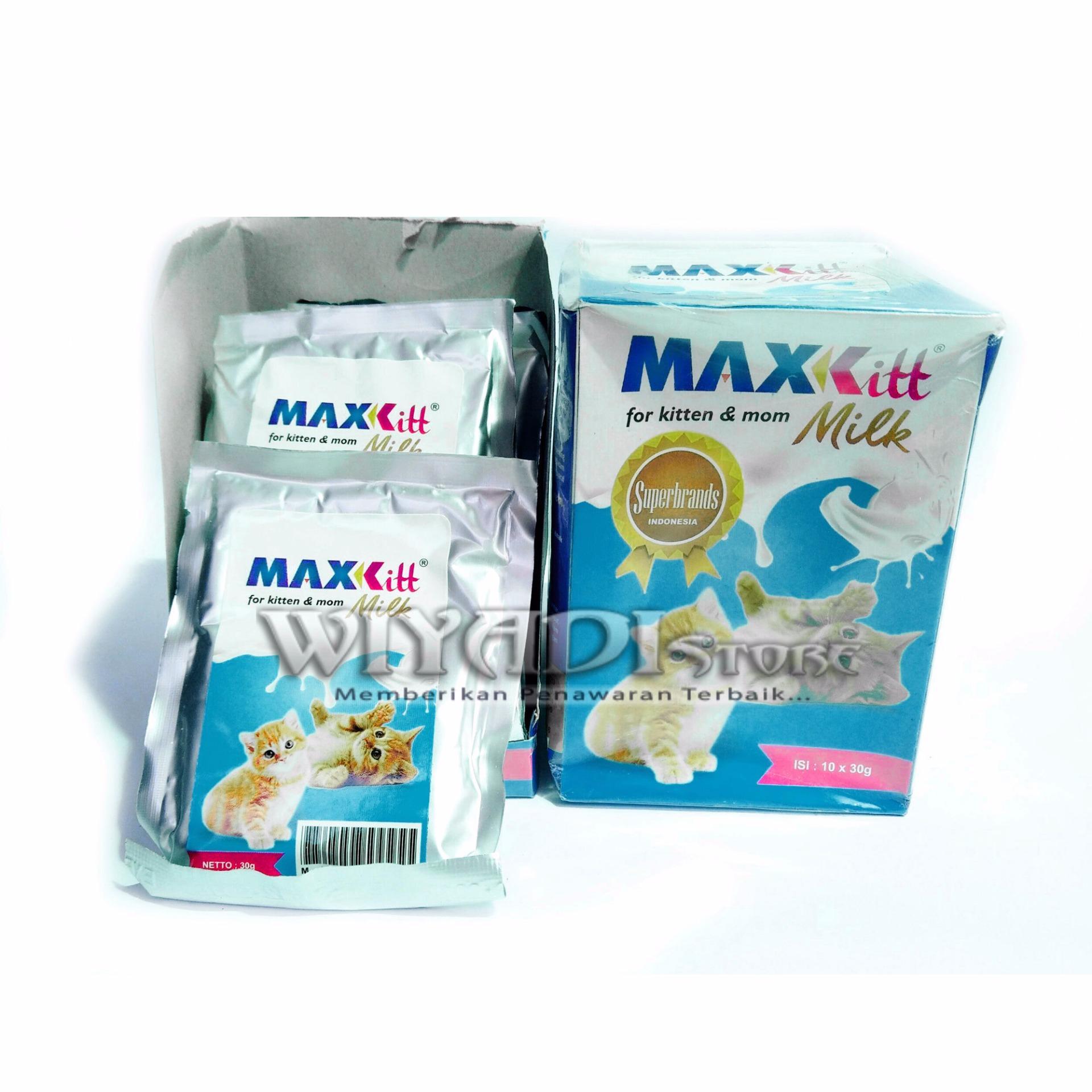 Flash Sale WiyadiStore - Maxkitt Susu Pengganti Induk Kucing - 3 Pcs