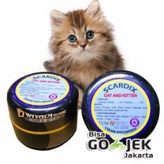 WiyadiStore - Obat Anti Infeksi luka koreng jamur gatal Kucing - Scardix Cat & Kitten