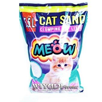 WiyadiStore - Pasir Wangi / Pasir Kucing Meow 5,5L