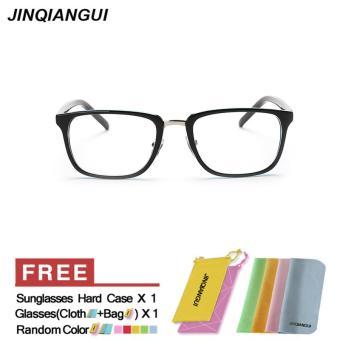 Eyewear Wanita Fashion Rectangle Glasses Blue Frame Kacamata Polos untuk Miopia  Wanita Kacamata Optik Kacamata Oculos a187cdbb89