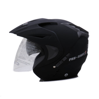 WTO Helmet - Double Visor - Pro-Sight - Hitam Doff