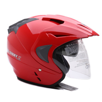 WTO Helmet - Double Visor - Pro-Sight - Merah - 3