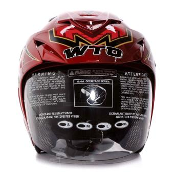WTO Helmet Impressive - Spectra - Candy Red - 5