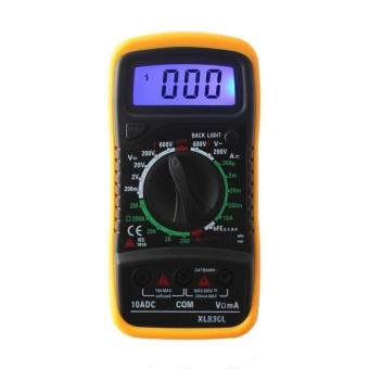 XL-830L Handheld LCD Digital Multimeter 3 1/2 Voltmeter OhmmeterMultitester F7 - intl - 5