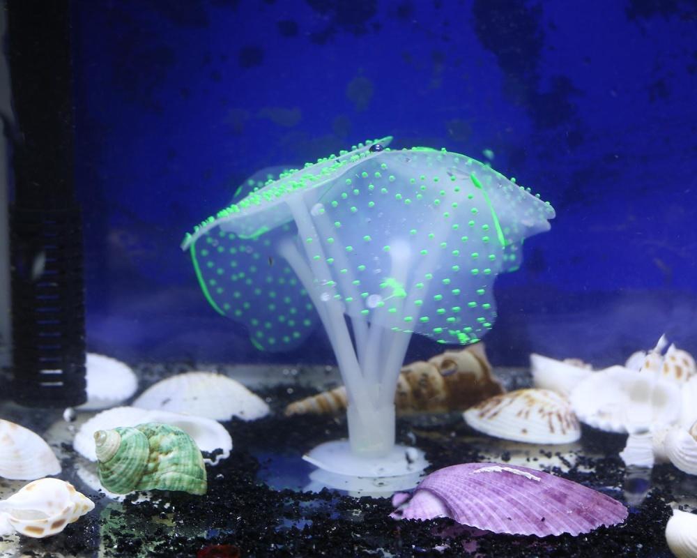 xudzhe Aquarium Ornament Decoration Fish Tank Artificial CoralLandscape Decor,Green - intl