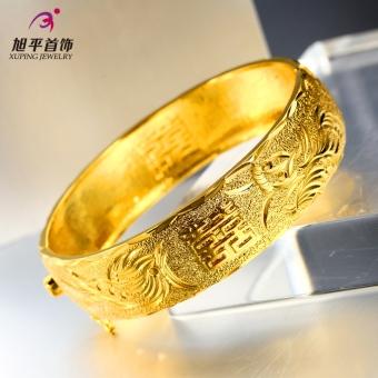 XUPING JEWELRY retro aksesoris aksesoris pernikahan pernikahan pernikahan gelang emas gelang