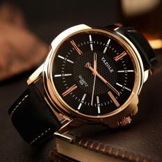 YAZOLE atas merek mewah jam tangan pria jam tangan pria jam tangan Waterproof bisnis kinyang kuarsa dunia yzl358h - hitam - ต่าง ประเทศ