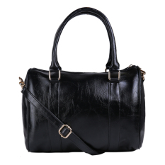 Zada Neo Lydia Top Handle Bag - Black