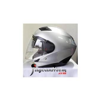 ZEUS Helm ZS611 SOLID ZS-611 Import ZS 611 Double Visor