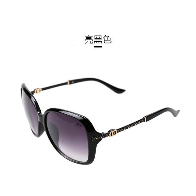 Zuoya perempuan baru terpolarisasi miopia kotak besar kaca mata kacamata  hitam 0491727745