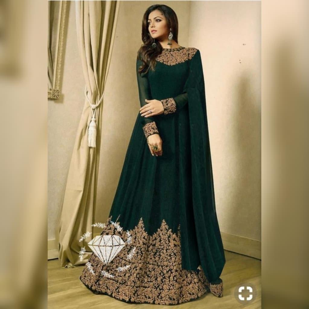 Baju India Miss Rani / Baju India Wanita Muslim / Baju Pesta Wanita India /  Baju Gamis Wanita Model India / Baju Muslim Pesta Mewah Mx Dra Vt