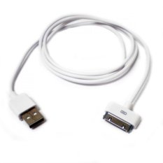 Apple Charger iPhone 4/4S & Kabel Data - Putih