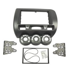 Double Din Fascia for Honda Jazz Dash Mounting Installation Kit (Intl)